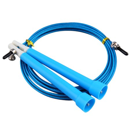 HC-TOP Cable Steel Jump Skipping Jumping Speed Fitness Rope Cross Fit MMA Boxing - image 2 de 7