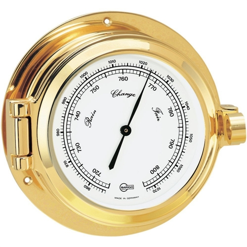 Barigo BAROMETER 3.3-inch DIAL BRASS HOUSING 1325MS