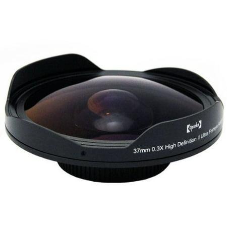 Opteka Platinum Series 0.3X HD Ultra Fisheye Lens for Canon Elura 60, 65, 70, 80, 85, 90, Optura 200MC, 30, 40, 50, 60, 600, VIXIA HF R20, R200, R21, MVX300,