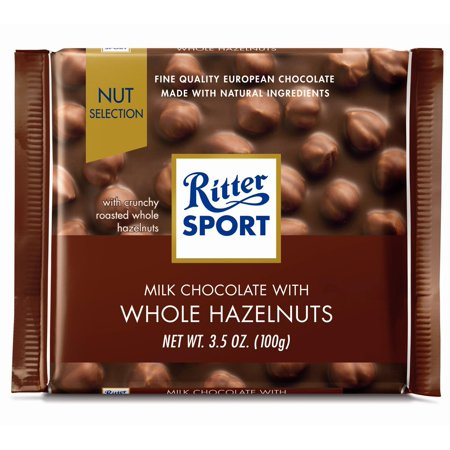 Ritter Sport 3.5 oz Milk Chocolate with Whole Hazelnuts