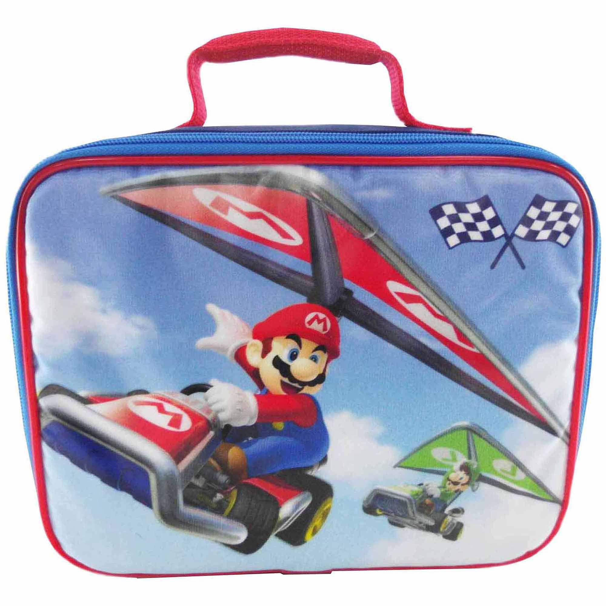 Nintendo Mario Kart Lunch Kit, Black