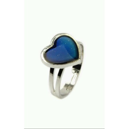 NEW ADORABLE CHILD or ADULT LOVE HEARTS 70S STYLE MOOD RING ANILLO DE - Mood Rings For Kids
