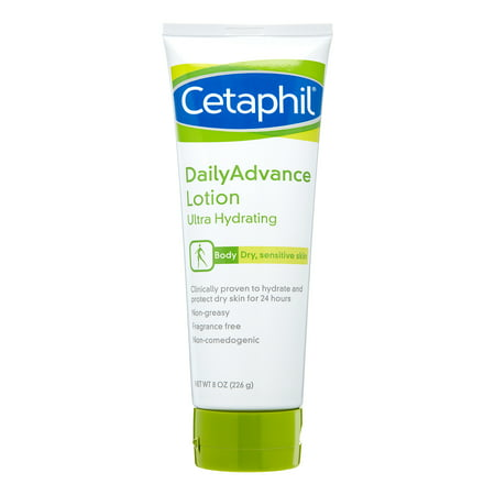 Dailyadvance Ultra Hydrating Lotion - Cetaphil For Dry, Sensitive Skin Daily Advance Ultra Hydrating Lotion, 8 oz