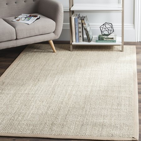 Safavieh Natural Fiber Collection Nf143b Marble And Linen Sisal