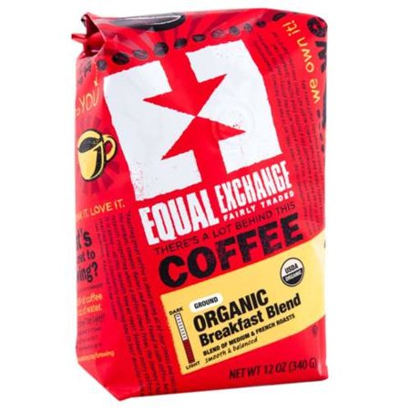 Equal Exchange - Equal Exchange Organic Breakfast Blend Coffee 12 oz 4 PACK SD