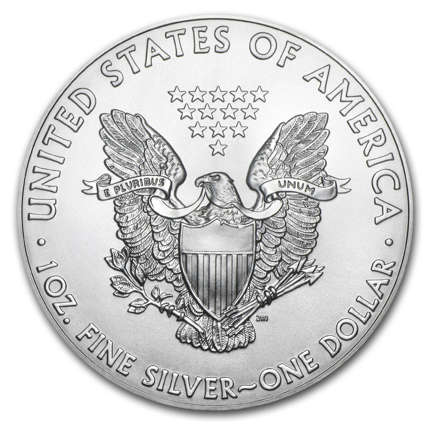 2015 1 oz Silver American Eagle BU Flag//Eagle, Harris Holder