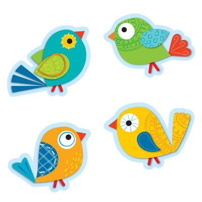 Boho Birds Cut-Outs