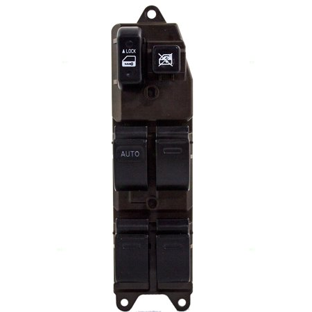 Drivers Front Power Window Master Switch Left side Replacement for xA xB Camry Sienna Matrix Vibe 84820AA070 88973019