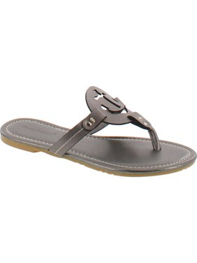 fadc8646fb25 Product Image Pierre Dumas Women s Lily Ornament Synthetic Sandals