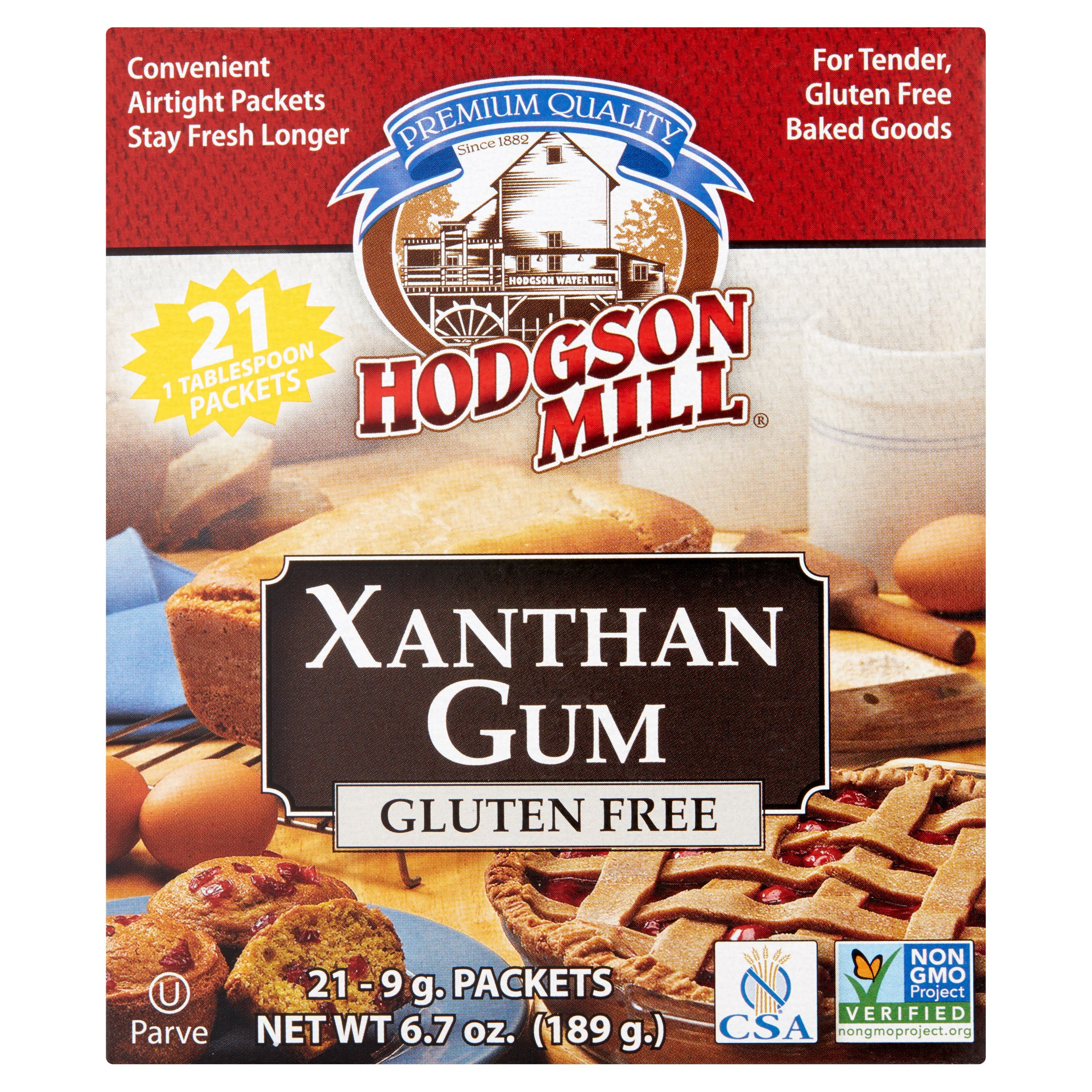 Hodgson Mill Xanthan Gum, 21 count, 6.7 oz