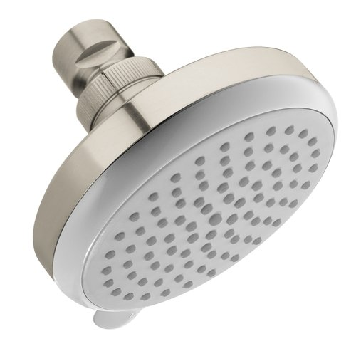 """Hansgrohe 04331820 Croma E Shower Head Only Multi-Function with 100 Vario Jets and 4"""" Spray Face, Various Colors"""