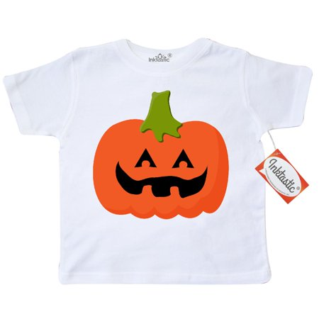 Inktastic Jack O Lantern Pumpkin Toddler T-Shirt halloween funny tees. gift child preschooler kid clothing apparel hws - Haloween Clothes
