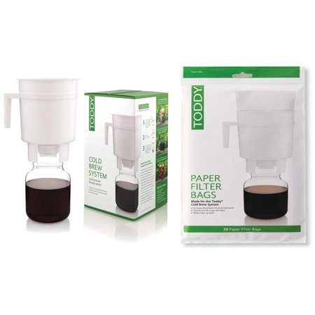 Toddy Cold Brew System With Filter Paper Bag 20 Pack