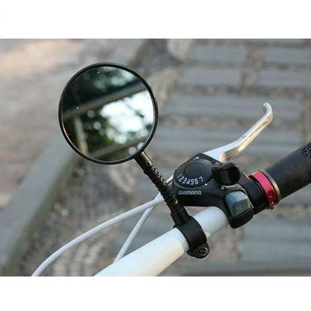 Foldable Mountain Bike Rearview Mirror Bicycle Handlebar Convex Rear View Mirror