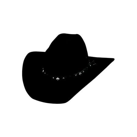 49da5b60d Bullhide Hats 0601Bl Country Heritage Extra Large Black Cowboy Hat