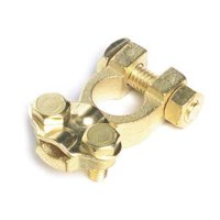 Grote 82-9126 6 to 2/0ga Battery Terminal, Brass