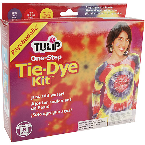 Tulip D24251 One-Step Psychedelic Tie-Dye Kit for 8 Shirts