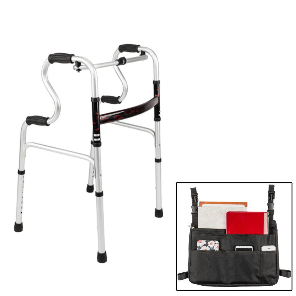 Ktaxon Walker Elderly Use Patient for Handicap Person Walking Frame w/ Carring Bag