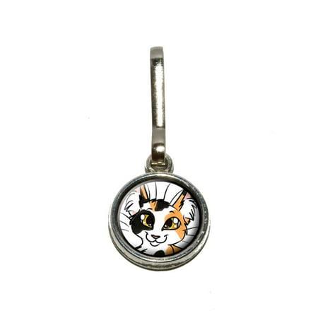 Calico Cat - Pet Charm Zipper Pull