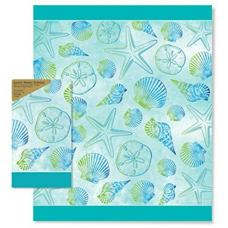 Paper Guest Hand Towels Seashells