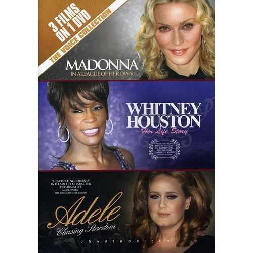 The Voice Collection: Madonna / Whitney Houston / Adele