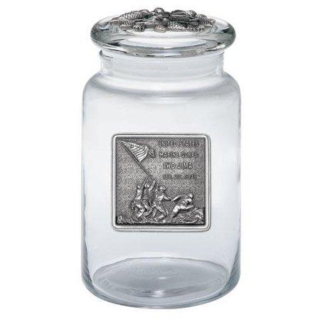 Iwo Jima Large Jar