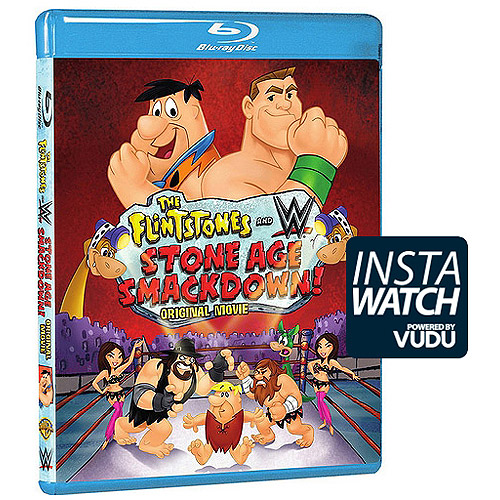 The Flintstones And WWE: Stone Age Smackdown (Blu-ray + DVD + Digital HD With UltraViolet) (With INSTAWATCH) HBRBRH510980