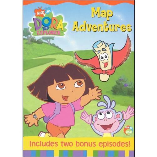 Dora The Explorer: Dora's Map Adventures (Full Frame)