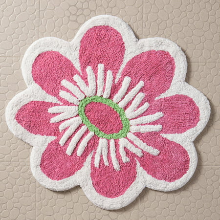 Discontinued Vcny Home Magical Garden Flower Bath Rug