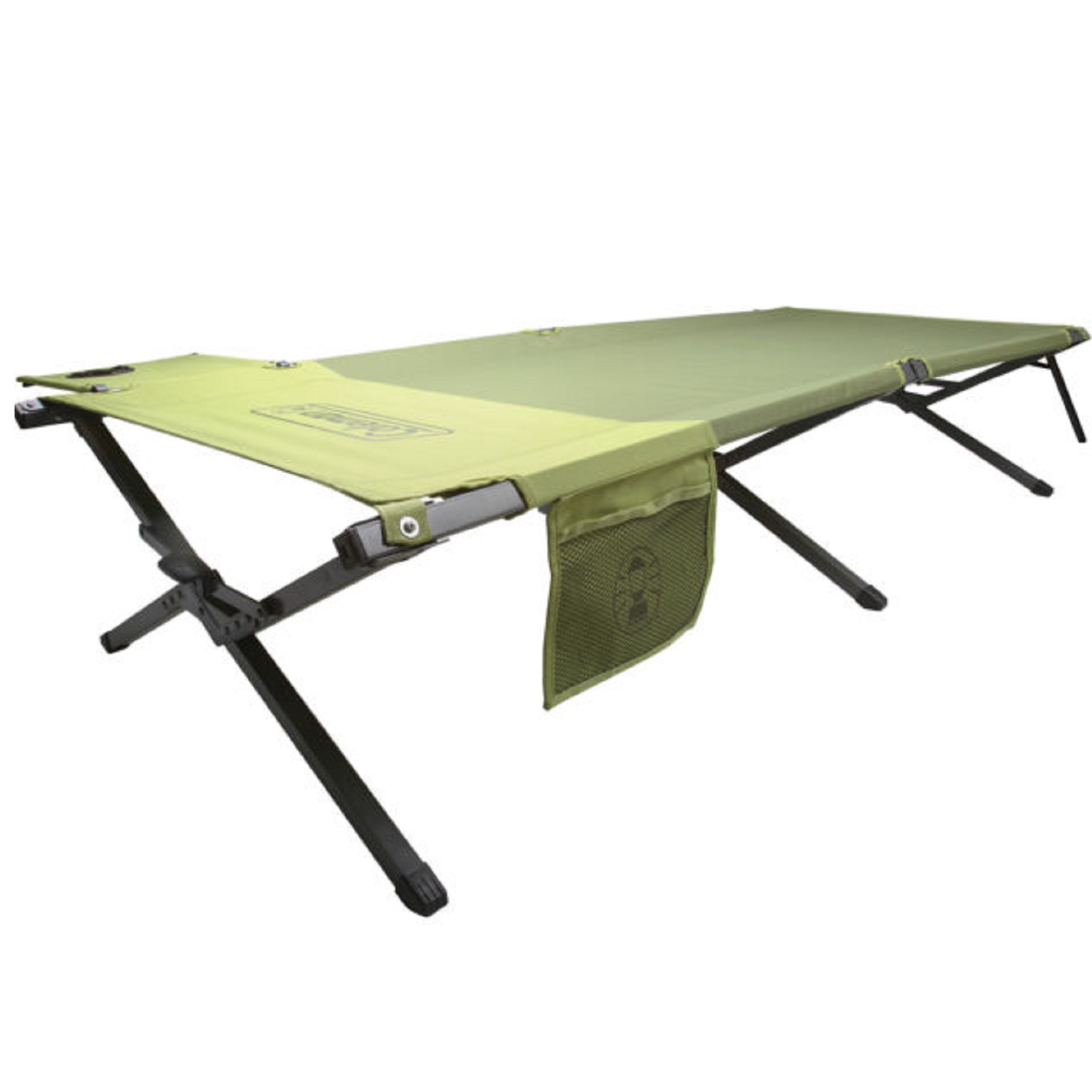 Coleman Trailhead Deluxe Footlocking Cot Green by COLEMAN