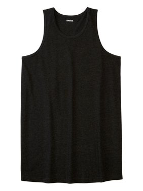 18786573 Product Image Kingsize Men's Big & Tall Longer-length Lightweight Muscle  Tank