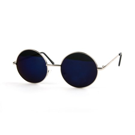 John Lennon 60's Vintage Round Hippie Sunglasses P2012 - 60's Attire For Women