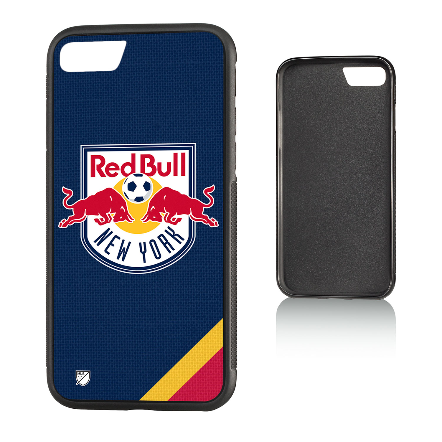 New York Red Bulls RED BULLS Solid Bump Case for iPhone 8 / 7