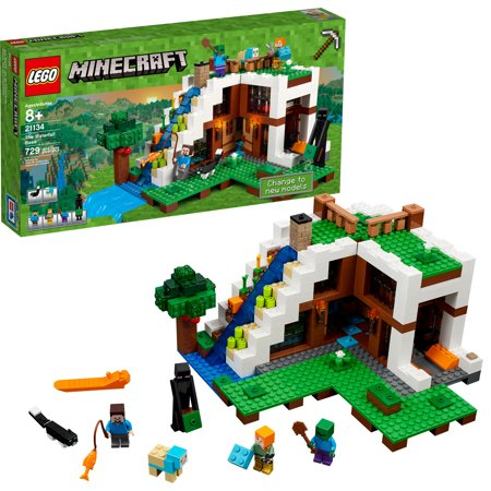 LEGO Minecraft The Waterfall Base 21134 for $<!---->