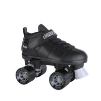 Chicago Mens? Bullet Speed Skates Black Classic Quad Roller Skate, Sizes 1-12