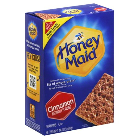 (3 Pack) Nabisco Honey Maid Cinnamon Grahams, 14.4 - Halloween Treats With Graham Crackers