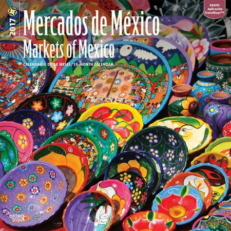 Calendario M.Mercados De Mツxico 2017 Calendario Markets Of Mexico 2017 Calendar