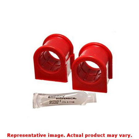 Metal Front Bushings (Energy Suspension 05-07 Ford Mustang Red Front Sway Bar Bushing Set (Must Reuse All Metal)