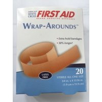 Wrap-Around FABRIC ADHESIVE FLEXIBLE BANDAGES 20/box