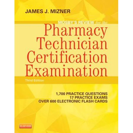 Mosby's Review for the Pharmacy Technician Certification Examination with Access - Access Code Module
