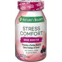 Nature's Bounty Stress Comfort Mood Boosters Gummies, 36 ct