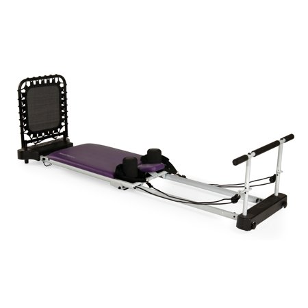 AeroPilates 5 Cord Reformer Plus 5004, purple and white
