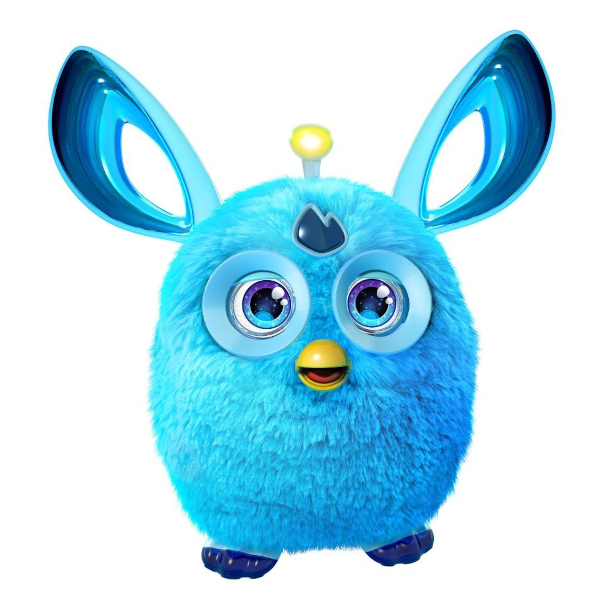 Furby Connect BLUE Friend by Hasbro & EXCLUSIVE Pack-A-Hatch Cinch Backpack COMBO by Hasbro, Inc