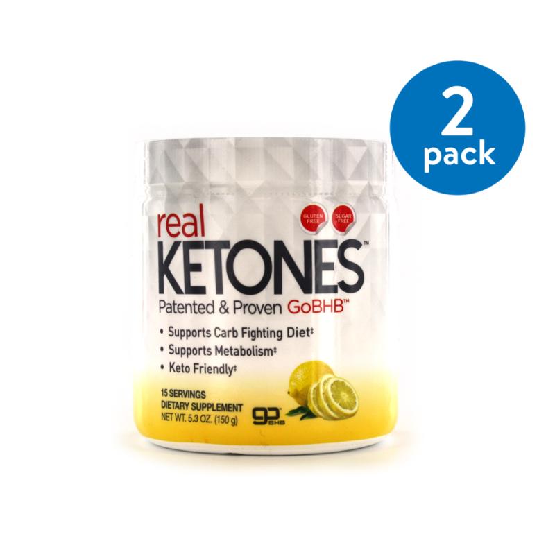 (2 Pack) Real Ketones Dietary Supplement, 5.3 oz