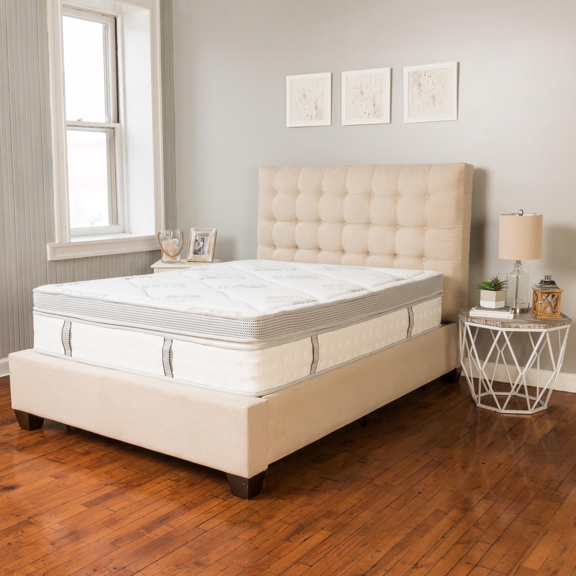 Modern Sleep Gramercy Euro-Top Cool Gel Memory Foam and Innerspring Hybrid 14-Inch... by Classic Brands