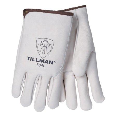 Tillman 764 Heavy Duty Top Grain Cowhide Drivers Gloves, Large - Heavy Duty Top Grain