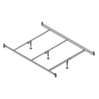 Hospitality Bed Full Xl And Queen Size Hook On Steel Bed