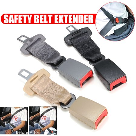 9 Inch Car Professional Safety Seat Belt Extension Extender Adjustable Nylon Material 23cm High Strength Buckle