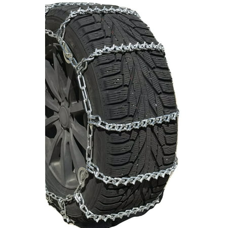 Snow Chains 255/60R16, 255/60 16 V-BAR Cam Tire Chains w/Spider Tensioners - image 4 of 4