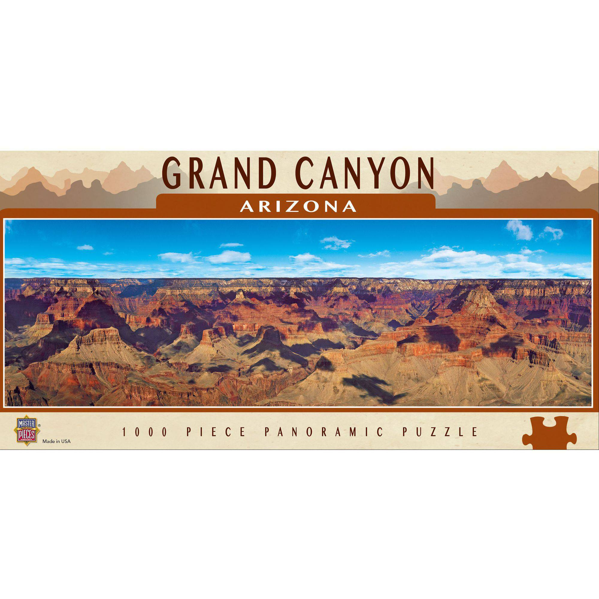 MasterPieces Grand Canyon National Park Panoramic Puzzle, 1000 Pieces by Generic